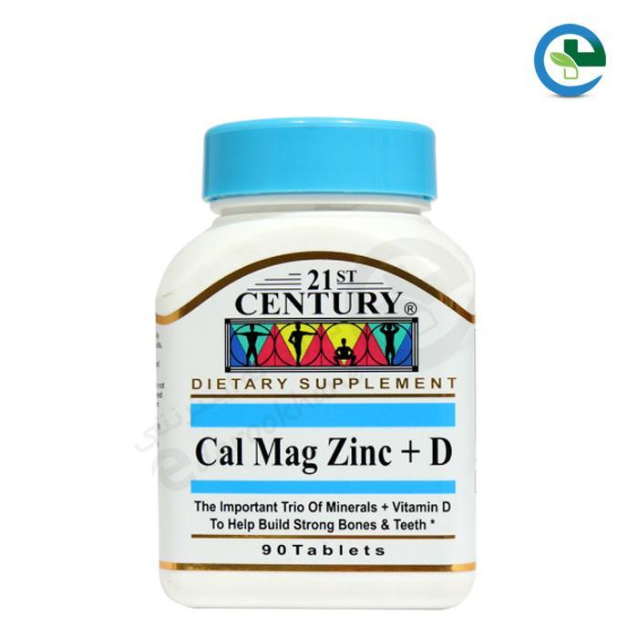 قرص كلسیم منیزیم زینك + ویتامین دی ۲۱ سنتری