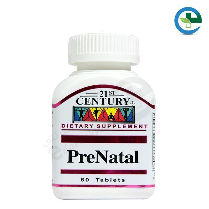 قرص پریناتال۲۱ سنتری مولتی ویتامین دوران بارداری 60 عددی