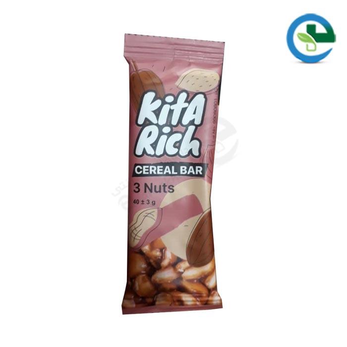 غلات میوه ای كیتابار Kita Bar مدل 3Nuts