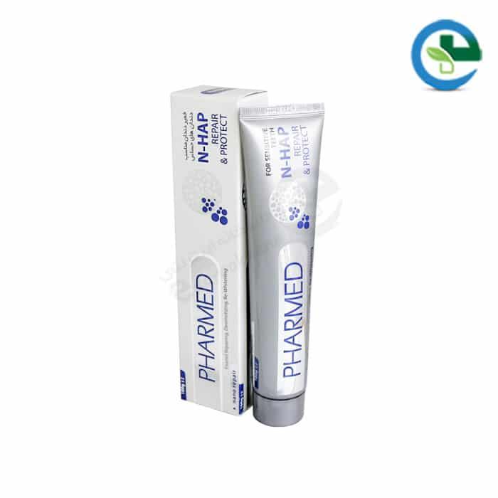 خمیردندان نانو فارمد مناسب دندان های حساس