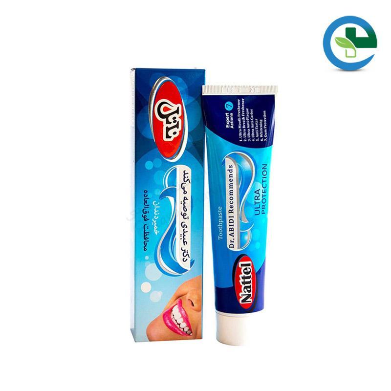 خمیر دندان مدل ultra protection ناتل وزن ۱۲۰ گرم