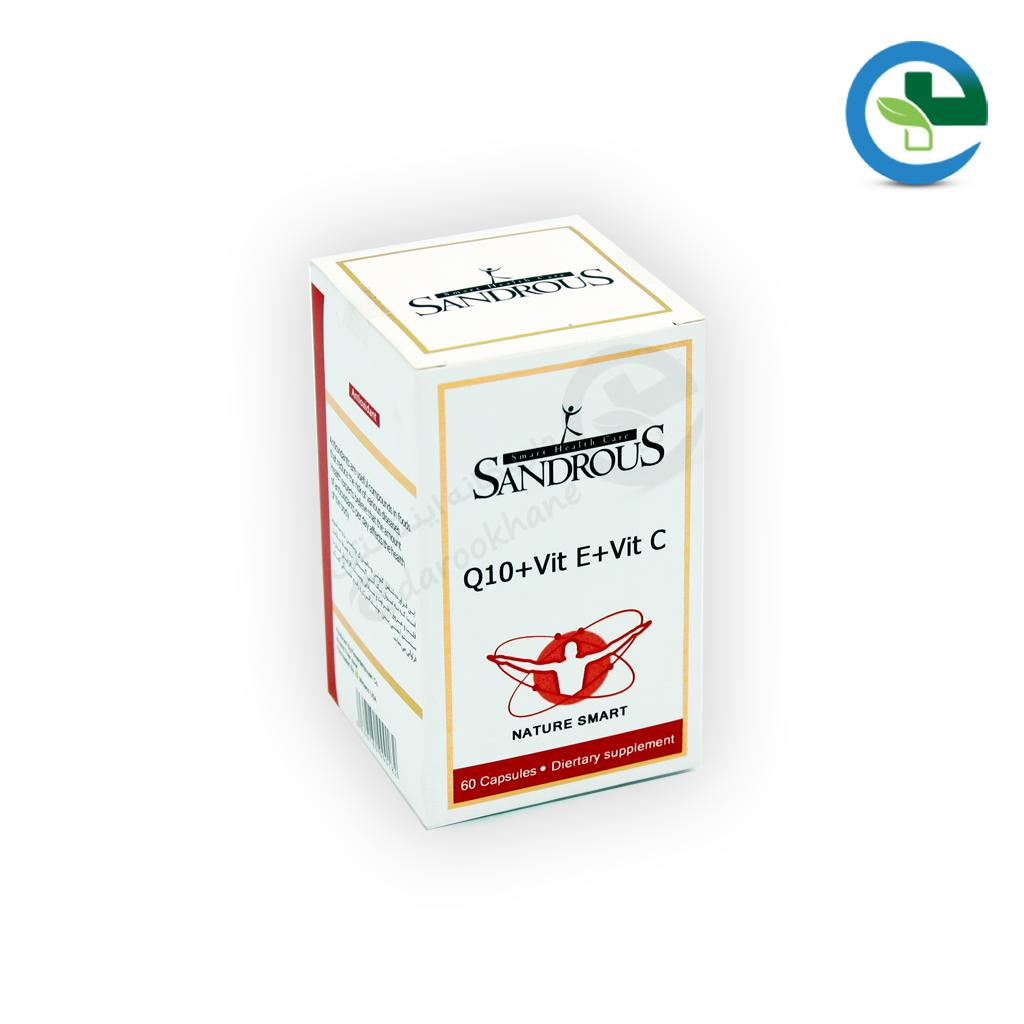 كیوتن و ویتامین ای و ویتامین سی سندروس