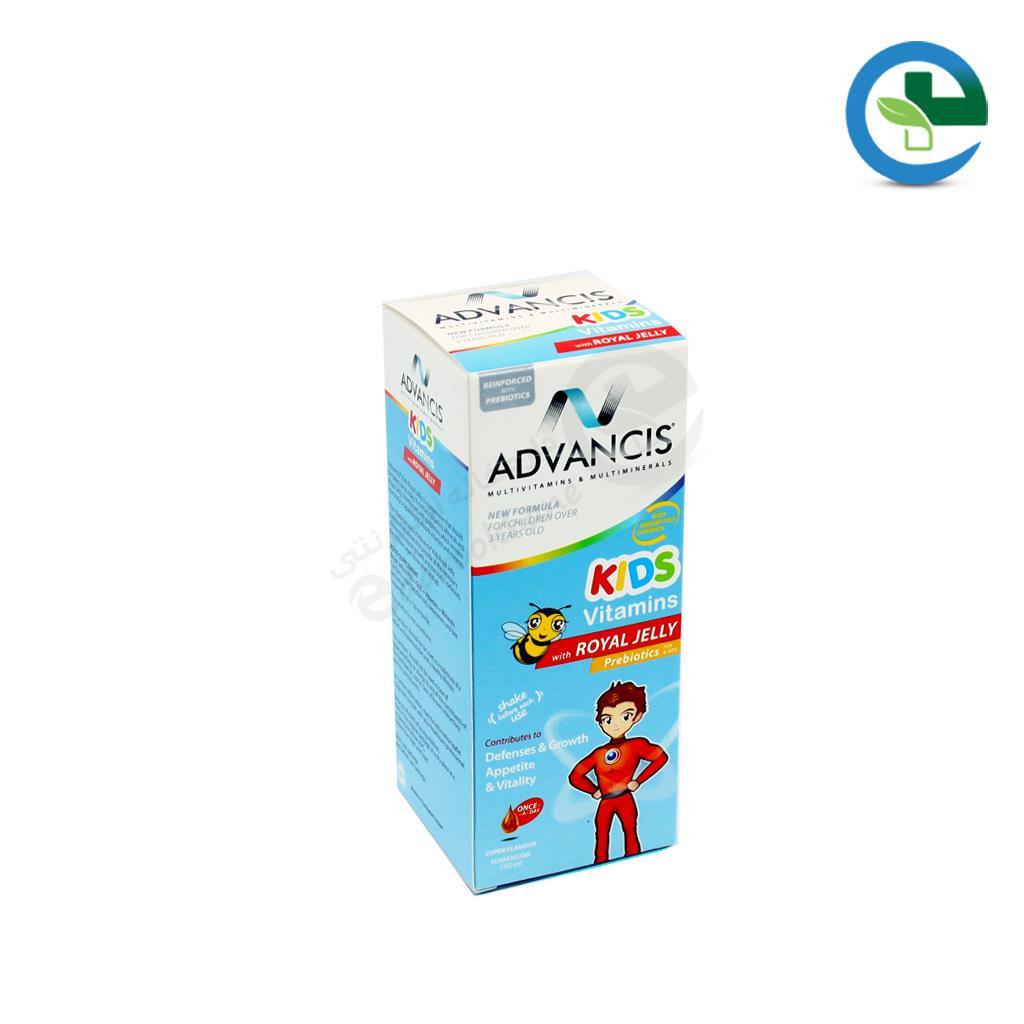 شربت كیدز ویتامینز همراه با رویال ژلی ادونسیس