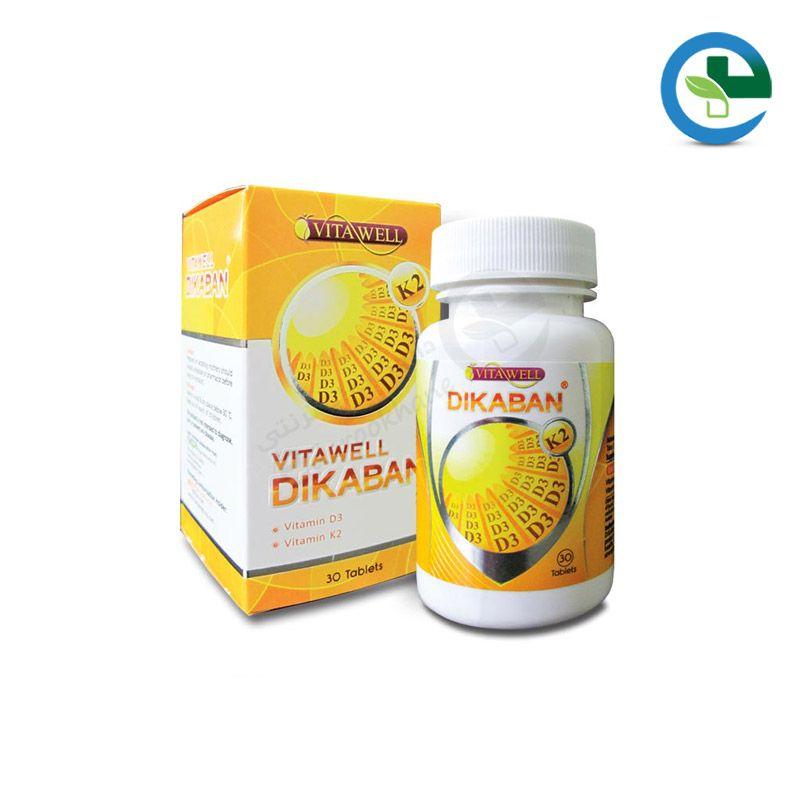 قرص ویتامین دی3 + ویتامین كا 2 دیكابان